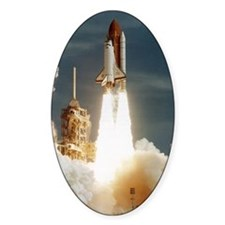 Launch of shuttle mission STS-70, J Decal