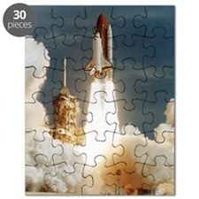 Launch of shuttle mission STS-70, July 13 1 Puzzle