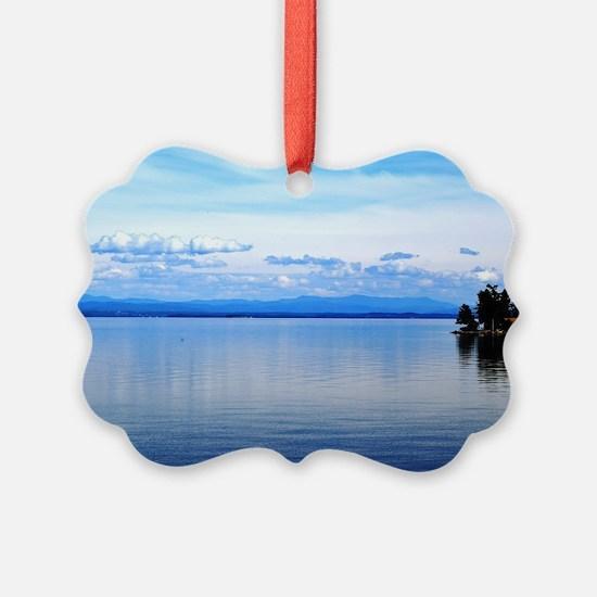 Lake Champlain 8 Ornament