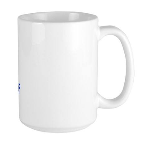 Calc Eq Blue Large Mug