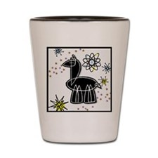 Llama Large Shot Glass
