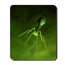 Bacteriophage, artwork Mousepad