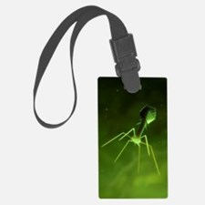Bacteriophage, artwork Luggage Tag