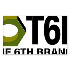 The 6th Branch Mark Large Decal