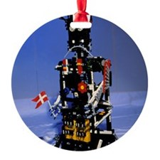 Lego humanoid robot known as Elektr Ornament