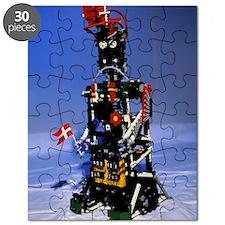 Lego humanoid robot known as Elektra Puzzle