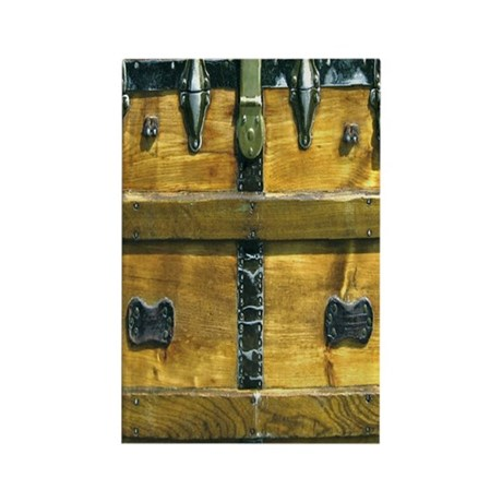 Steampunk Steamer Trunk Kindle ca Rectangle Magnet
