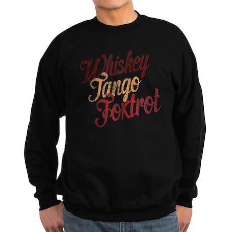 Whiskey Tango Foxtrot Vintage Da Sweatshirt (dark)