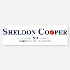 Sheldon Cooper for President Bumper Bumper Bumper Sticker