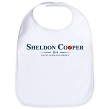 Sheldon Cooper for President Bib