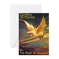 THIEF of BAGDAD - Greeting Card
