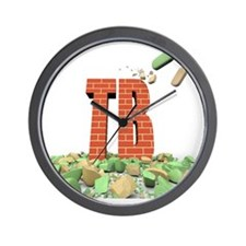 Tuberculosis resistance to some drugs Wall Clock