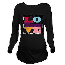 I Love Tess Long Sleeve Maternity T-Shirt