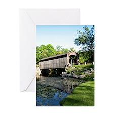 Fallasburg Covered Bridge Greeting Card