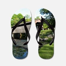 Fallasburg Covered Bridge Flip Flops