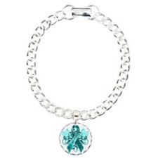 I Wear Teal for my Frien Charm Bracelet, One Charm
