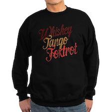 Whiskey Tango Foxtrot Vintage De Sweatshirt