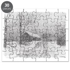 Snow On The Road Puzzle