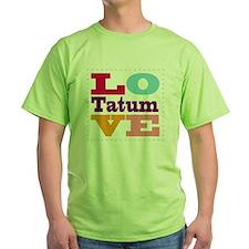 I Love Tatum T-Shirt