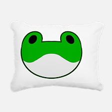 Sanaes Frog Clip Rectangular Canvas Pillow