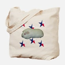 Logo White American 3 Tote Bag