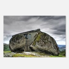 Rock house Postcards (Package of 8)