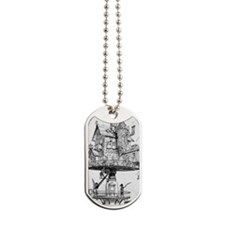 Aerial House Dog Tags