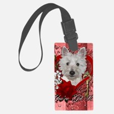 Valentines - Key to My Heart - W Luggage Tag
