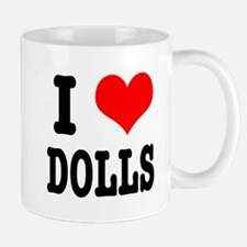 I Heart (Love) Dolls Mug