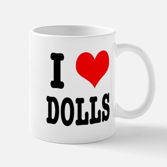 I Heart (Love) Dolls Mug