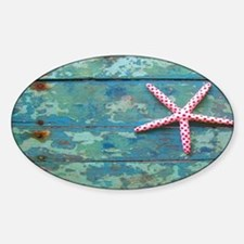 Starfish and Turquoise Decal