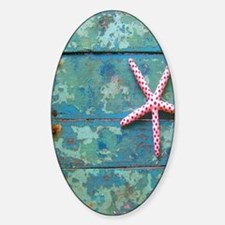 Starfish and Turquoise Bumper Stickers