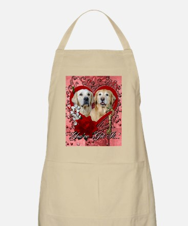 Valentines - Key to My Heart - Goldens Apron