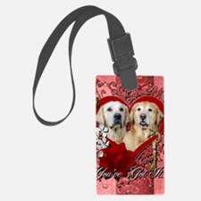 Valentines - Key to My Heart - G Luggage Tag