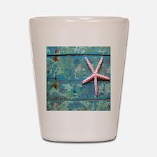 Starfish and Turquoise Shot Glass