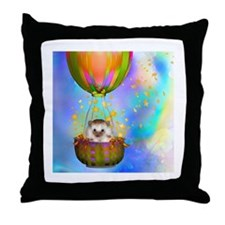 """Up up and Away"" Throw Pillow"