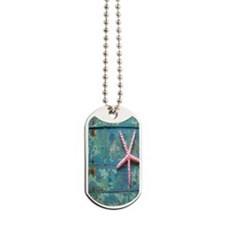 Starfish and Turquoise Dog Tags