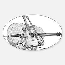 Bluegrass-2 Sticker (Oval)