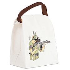 American Sheepdog Canvas Lunch Bag