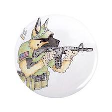 """American Sheepdog 3.5"""" Button"""