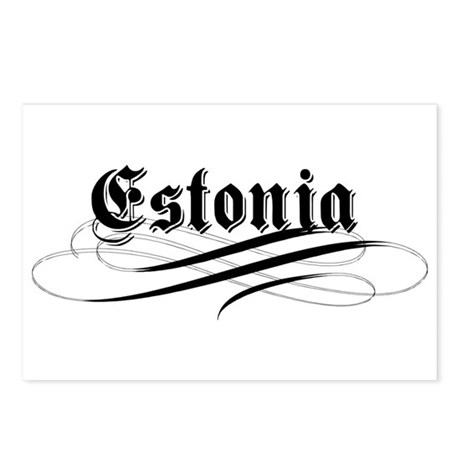 Estonia Gothic Postcards (Package of 8)