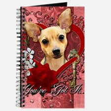 Valentines - Key to My Heart - Chihuahua Journal
