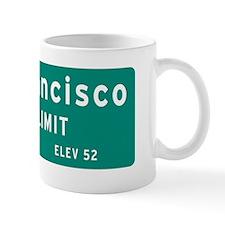 San Francisco City Limit Mug