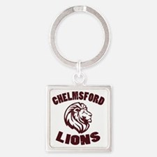 Chelmsford Lions Square Keychain