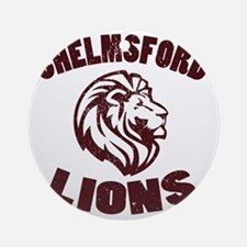 Chelmsford Lions Round Ornament