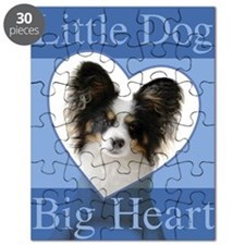 Little Dog Big Heart Puzzle