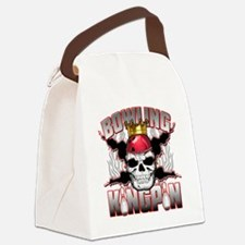 Bowling Kingpin Canvas Lunch Bag