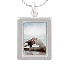 125144302 Silver Portrait Necklace