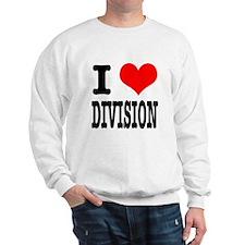 I Heart (Love) Division Sweatshirt