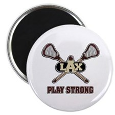 Lacrosse Play Strong Magnet